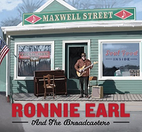 "Ronnie Earl And The Broadcasters ""Maxwell Street"" 2016"