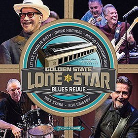 "Mark Hummel ""Golden State Lone Star Blues Revue"" 2016"
