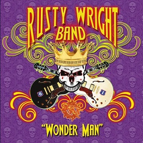 The Rusty Wright Band  «Wonder Man» 2015