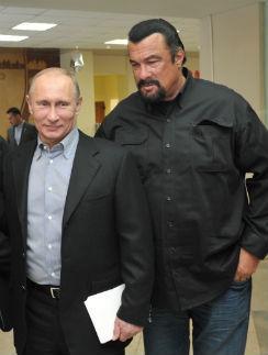 Steven Seagal: эстонцы наступили на горло блюза за симпатии к Путину