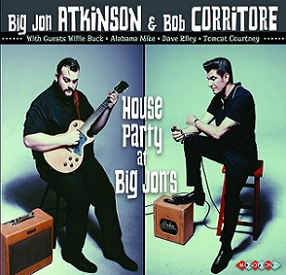 Big Jon Atkinson & Bob Corritore «House Party At Big Jon's» 2016